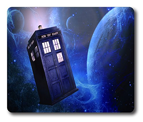 Custom Printed Non-Slip Dr Who Mouse Pad g0002