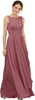Best dusty rose color bridesmaid dresses Reviews