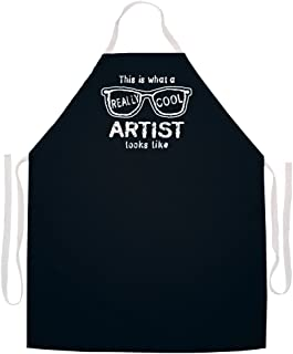 Attitude Aprons Fully Adjustable This is What a Really Cool Artist Looks Like Artist Apron