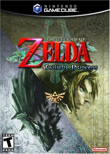 GameCube - The Legend of Zelda: Twilight Princess (nur CD) (US-Import) (gebraucht) ([Freeloader benötigt])