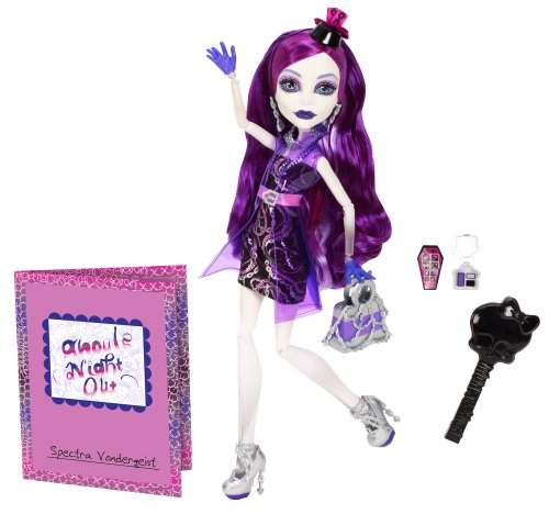 Mattel Monster High BBC12 - Nachtschwärmer Spectra Vodergeist, Puppe