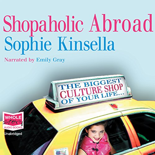 Shopaholic Abroad audiobook cover art