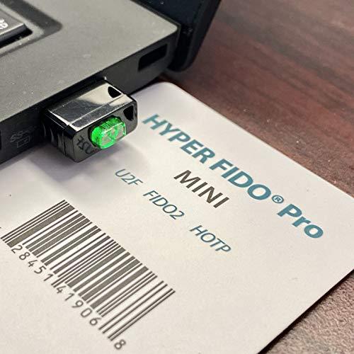 Hyperfido Pro Mini U2F/FIDO2/HOTP Sicherheitsschlüssel