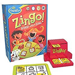 zingo game: gifts for 5 year old boys