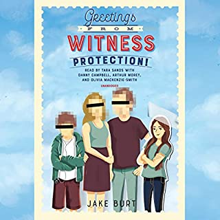 Greetings from Witness Protection! audiobook cover art