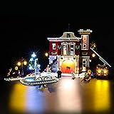 BRIKSMAX Kit di Illuminazione a LED per Lego Creator Winter Village Fire Station,Compatibile con Il Modello Lego 10263 Mattoncini da Costruzioni - Non Include Il Set Lego.