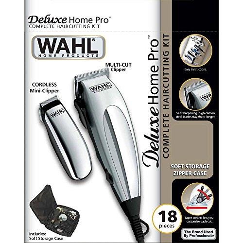 Wahl 79305-1316 HomePro Vogue Deluxe - Cortapelos con accesprios, con cable,...