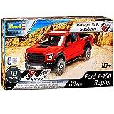 Ford F-150 SVT Raptor Rot 12. Generation 2008-2014 Snap Tite Bausatz Kit 1/24 1/25 Revell Modell Auto mit individiuellem Wunschkennzeichen