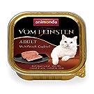 animonda Vom Feinsten Adult Katzenfutter, Nassfutter für ausgewachsene Katzen, Multifleisch-Cocktail, 32 x 100 g