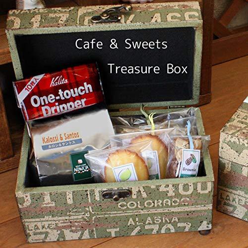 大人の男のためのギフト「カフェスイーツBOX☆宝箱」本格コーヒーと和歌山産フルーツの焼き菓子詰め合わせ【プレゼント・お祝い・お礼に】