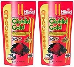 Cichlid Gold fish food large pellet floating type 8.8 oz (250g) (2 Pack)