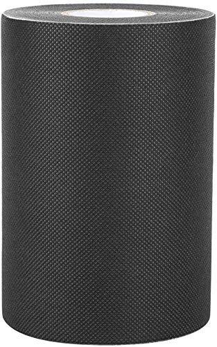 cinta para juntas de césped artificial de 150 mm * 10 m cinta de césped artificial para alfombras de césped artificial para jardín astro y cinta adhesiva de césped artificial (negro / verde) (negro)