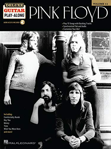 Pink Floyd: Deluxe Guitar Play-Along (English Edition)