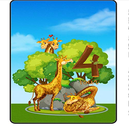 ZZXC Alfombra Hogar Rectangular Anime Alfombra De Dibujos Animados Habitación De Niños Dormitorio Pasillo Sala De Estar Sala De Estudio Alfombra De Puerta Mesa De Centro Moderno Simple