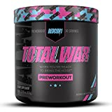 Redcon1 Total War - Pre Workout, Boost Energy, Increase Endurance and Focus, Beta-Alanine, 350mg...