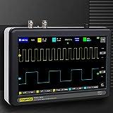 KKTECT Digital Handheld Oscilloscope 7-Inch 1013D 2-Channel Digital Storage Oscilloscope, 1GS Sampling Rate, 100MHz Bandwidth, Touch Panel Multifunction Digital Oscilloscope