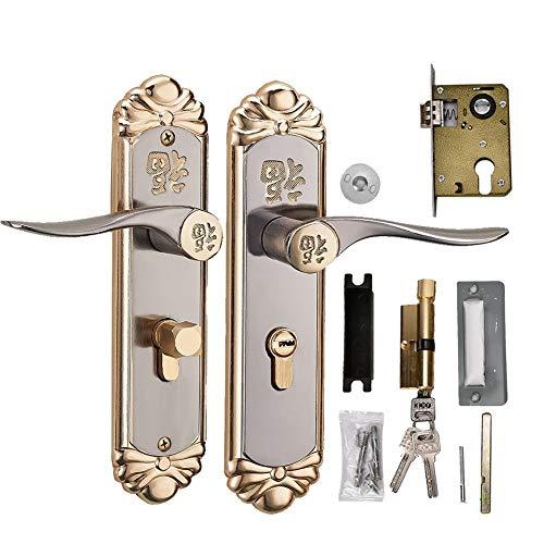 Robuuste boor voor de binnengreep van de deur, Euro-cilinderslot met sleutels