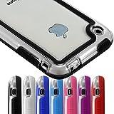 Seluxion-Housse Etui Coque Bumper pour Apple iPhone 3 g 3GS Noir