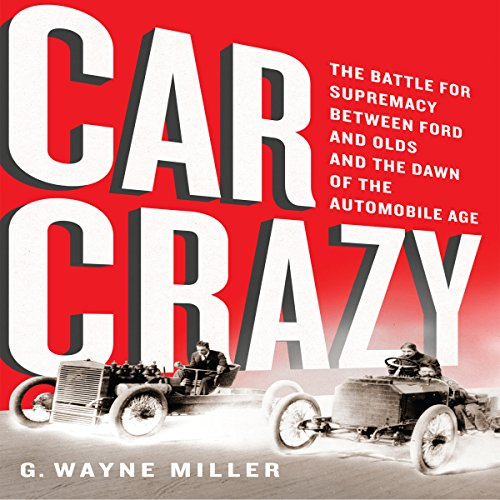 Car Crazy audiobook cover art