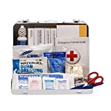 First Aid Only 114 Piece Heavy Duty Vehicle First Aid Kit, ANSI/OSHA Compliant (90672)