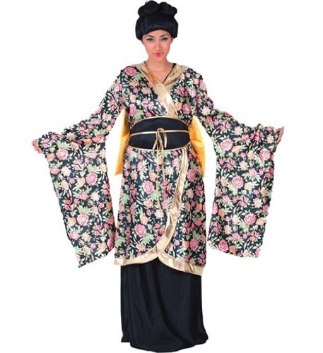 Partyklar Geisha Flower Damen Kostüm Japan