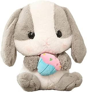 UBeauty 20'' Cute Rabbit Plush Toys Lop Rabbit Doll Pillow (grey)
