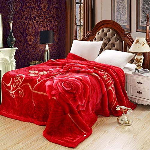 ROZIA Thickened double-layer blanket-8_200x230 7 kg