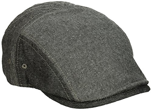 Original Penguin Men's Chambray Driving Cap, Black, One Size