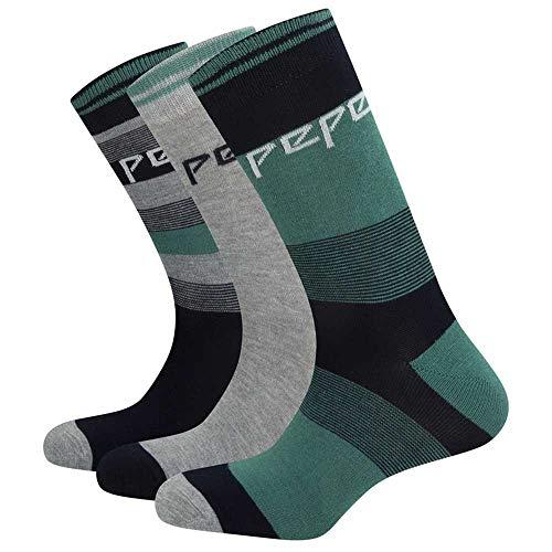 Pepe Jeans Pack 3 Holden Socken für Herren, Mehrfarbig 43