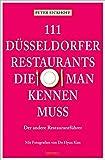 111 Düsseldorfer Restaurants, die man kennen muss