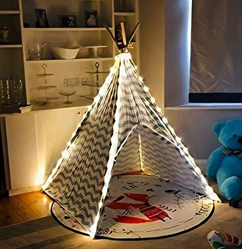 Vercico Fairy Lights Battery Indoor for Kids Teepee Tent Little Star Light Christmas Lights for Children Play Camping Tent Party Decoration