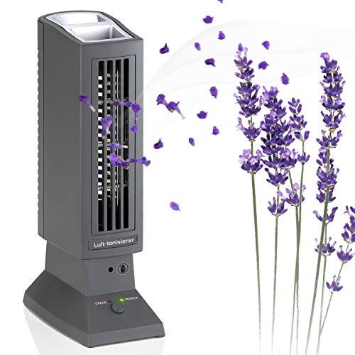 Asigo Luftreiniger für Allergiker und Raucher, Air Purifier für Raucherzimmer, geeignet bei Allergie, gegen Feinstaub und Rauch