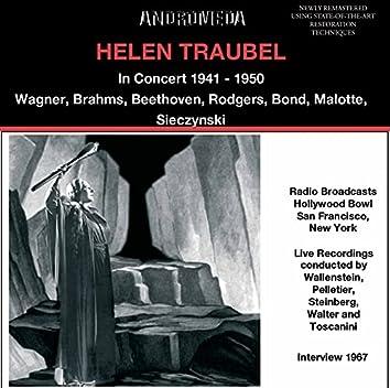 Helen Traubel in Concert