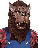 Fun World Unisex-Adult's Big Bad Wolf Mask Accessory, Multi, Standard