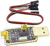 MUKUAI56 Gold Liter CH340G RS232 a TTL USB a módulo serie actualización pequeña placa en nueve cepillo línea punto Steuermodul DIY