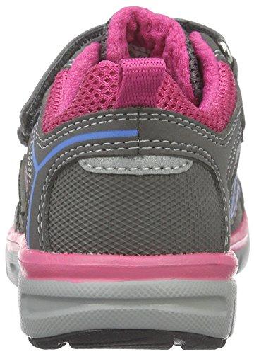 Superfit LUMIS 700411, Mädchen Sneakers, Grau, 32 EU - 6