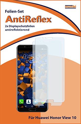 mumbi Schutzfolie kompatibel mit Huawei Honor View 10 Folie matt, Displayschutzfolie (2X) - 2