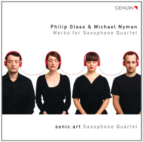 Glass/ Nyman: Streichquartett 3/ Saxophonquartett/ Songs for Tony