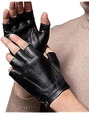 Vingerloze Rijhandschoenen PU Kunstleer Outdoor Sport Half Vinger Handschoen Motorfiets Fietsen Klimmen sportschool voor Mannen Vrouwen Tieners