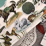 26 pièces/Pack Autocollants de Style américain européen rétro Animaux Autocollants Journal étiquette Autocollants décor Scrapbooking Bricolage Autocollants Jouets GIF