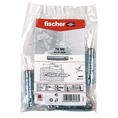 Fischer Schwerlastanker TA M8 B Beutel (4 Stück je Beutel) 62608