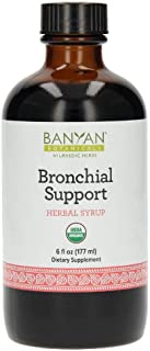 Banyan Botanicals Bronchial Support Herbal Syrup, USDA Organic, Ayurvedic Formula Designed to Provide Bronchial Comfort and Wellness.