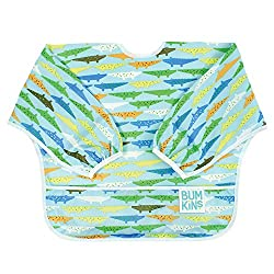 4. Bumkins Waterproof Sleeved Bib