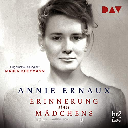 Erinnerung eines Mädchens                   By:                                                                                                                                 Annie Ernaux                               Narrated by:                                                                                                                                 Maren Kroymann                      Length: 4 hrs and 22 mins     Not rated yet     Overall 0.0
