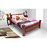 Best Queen Bed Frame - WOOD CRAFT Solid Sheesham Wooden Queen Size Bed Review