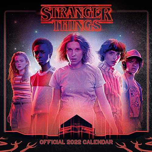 Official Stranger Things 2022 Calendar – Month To View Square Wall Calendar