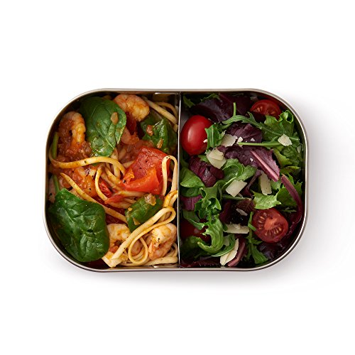 Product Image 4: Black+Blum Stainless-steel Lunch Box   Leak-proof Oven Safe Plastic Free Meal Prep Lunch Food Container, Orange, 1000ml / 34 fl oz