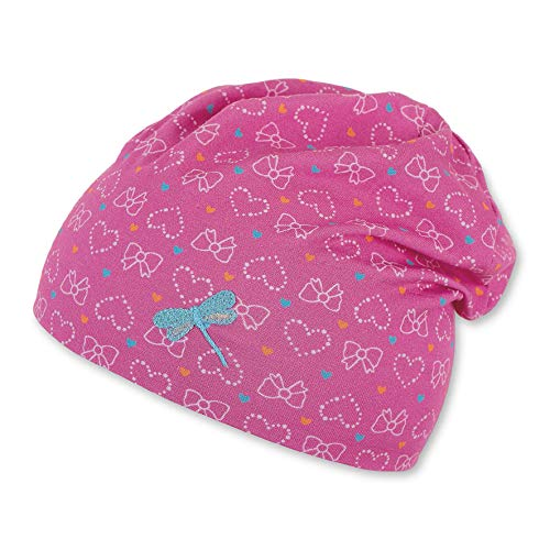 Sterntaler Baby-Mädchen Slouch-Beanie Mütze, Rosa (Pink 794), 45