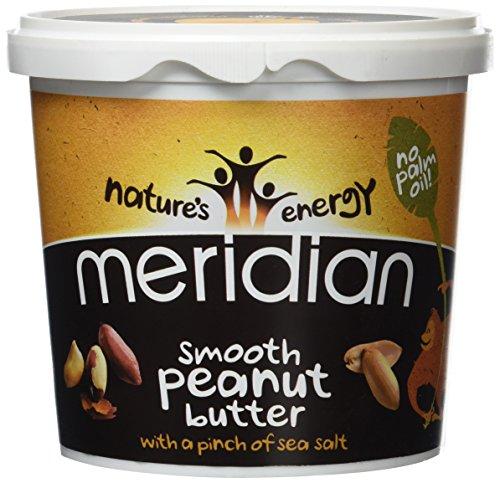 Meridian Foods weiche Erdnuss Butter mit Salz 1kg