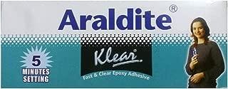 Araldite Klear Fast & Clear Epoxy Adhesive 180 gm (Resin 90g + Hardener 90g)